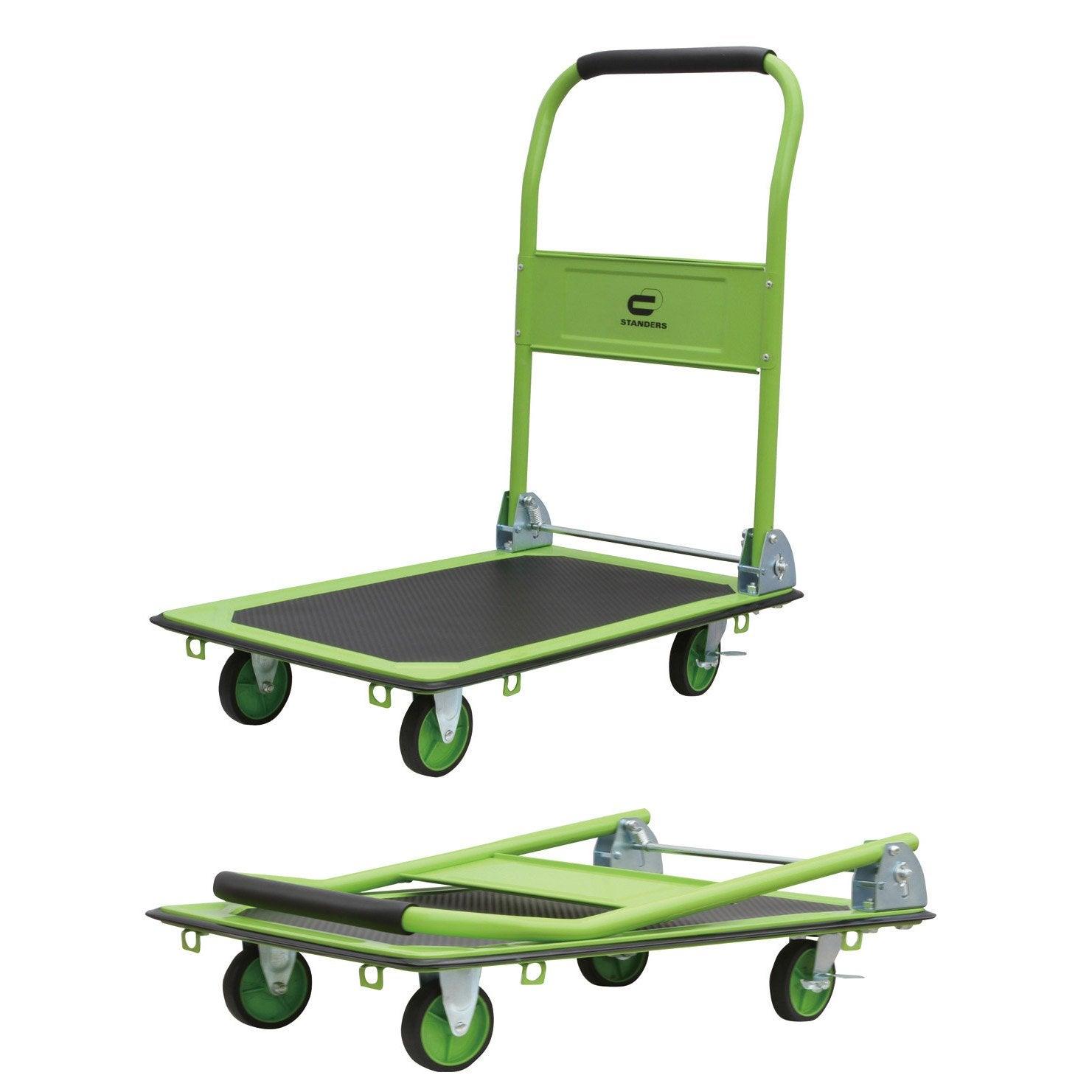 Chariot Pliable Standers Charge Garantie 150 Kg En 2019