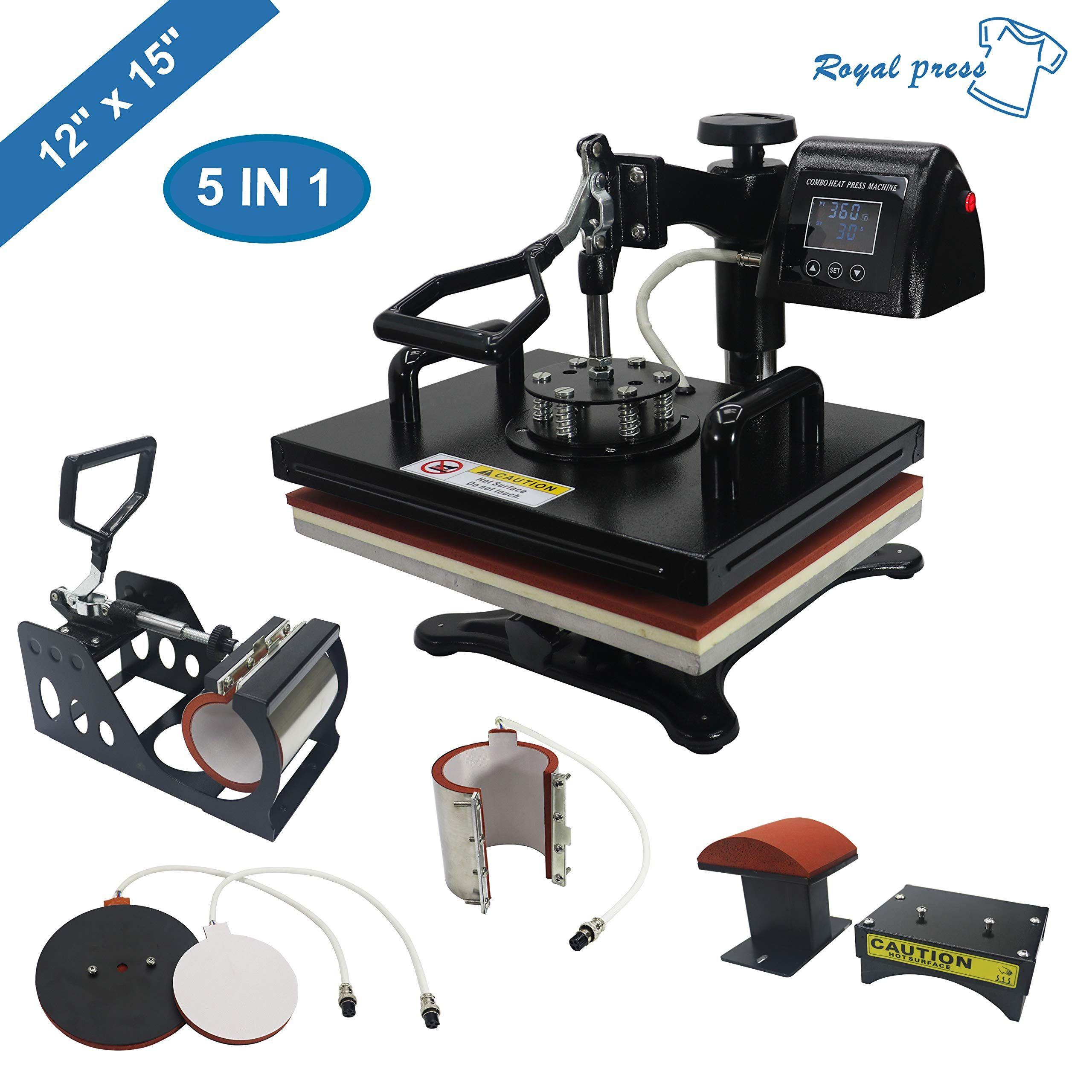 Royalpress Professional 12 X 15 Best Heat Press Machine Heat Press Machine Heat Press