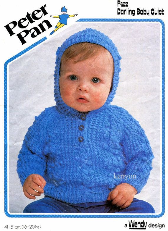 Knitting Baby Sweater Measurements : Instant download knitting pattern baby s sweater with