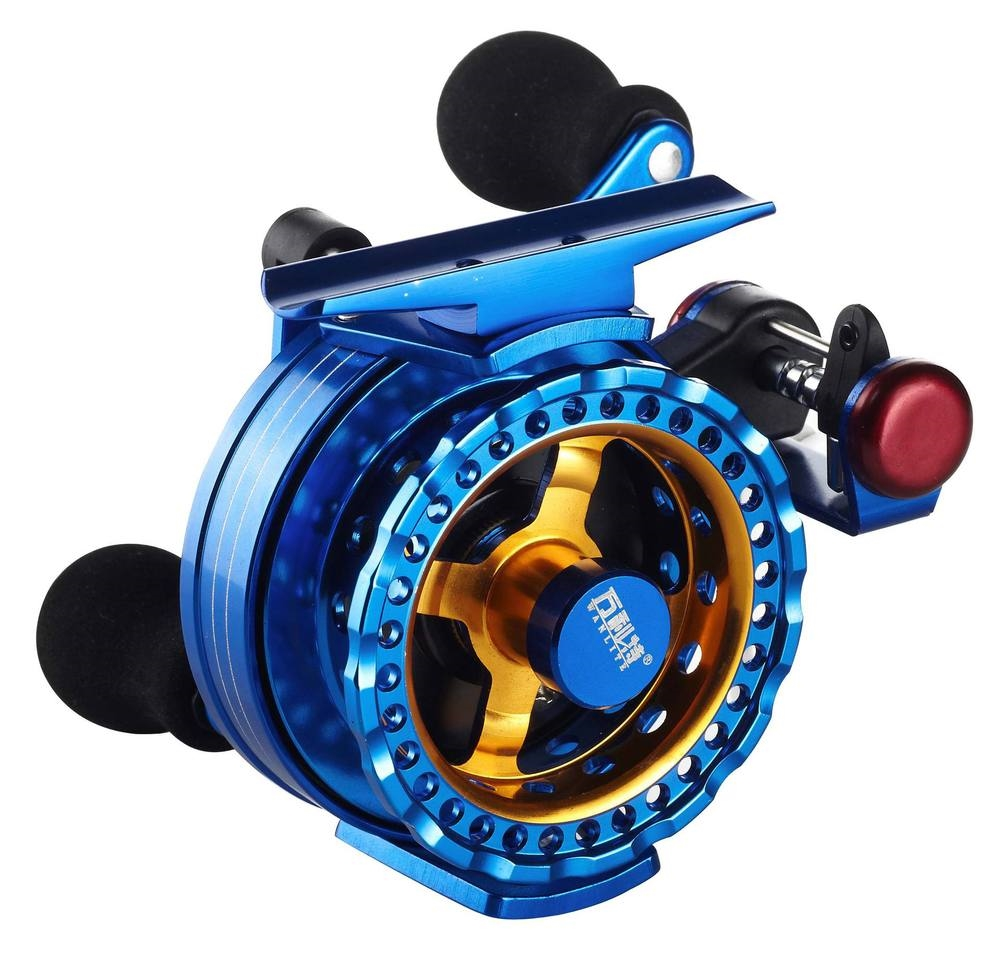 107.96$  Watch now - http://ali79e.worldwells.pw/go.php?t=32430148672 - Full-metal fish line wheel Gbadolite  2015 raft automatic cable reels B60v raft wheel raft rod stem wheel micro lead reel 107.96$