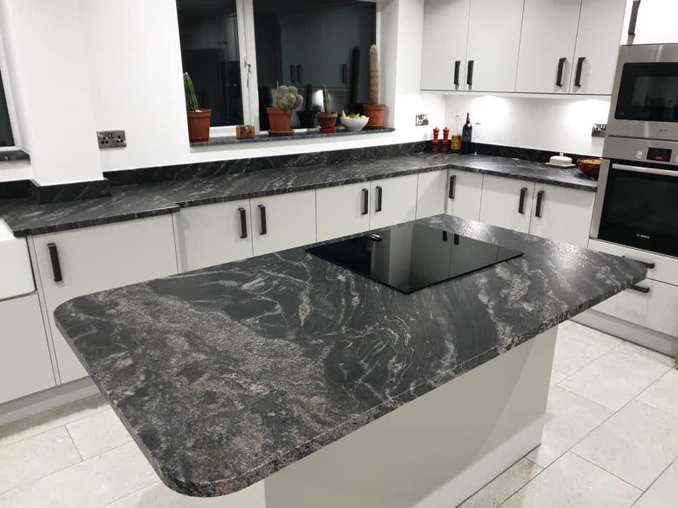 Black Leathered Granite Leather Granite Granite Worktop Kitchen Kitchen Design