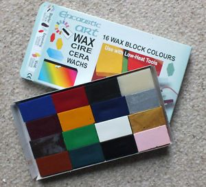 16 Starter Colours Encaustic Art Wax Brand New in Box