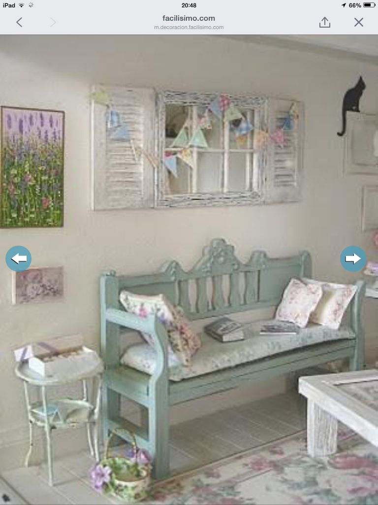 Vintage Home Decor Pinterest Shabby Chic Muebles And - Decoracion-shabby-chic-vintage