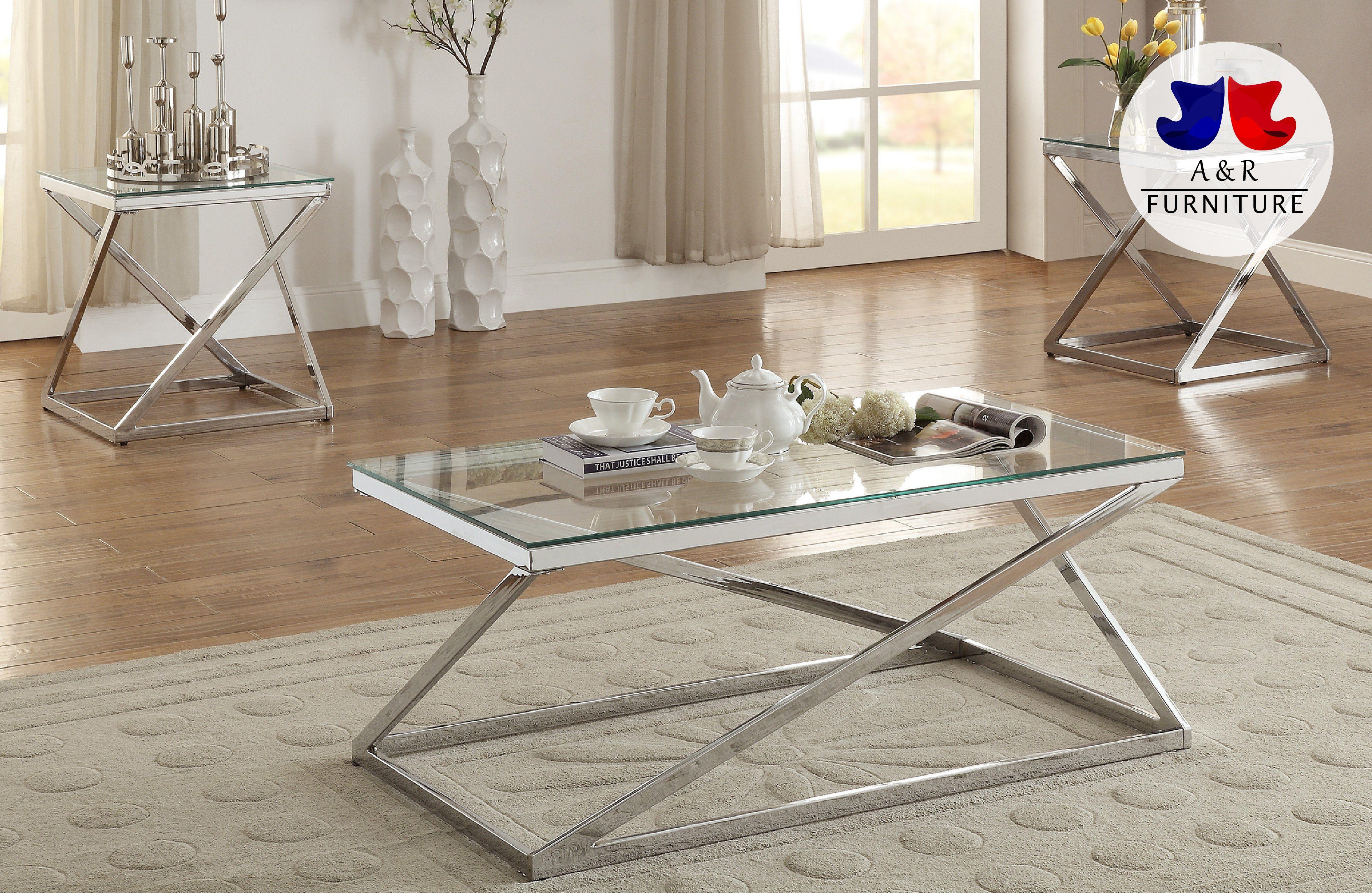 Z Shape Base Glass Top 3pcs Coffee Table Set Pdx 132 Mesas De Cafe Mesas De Centro Redondas Mesas Para Sala [ 3063 x 4704 Pixel ]