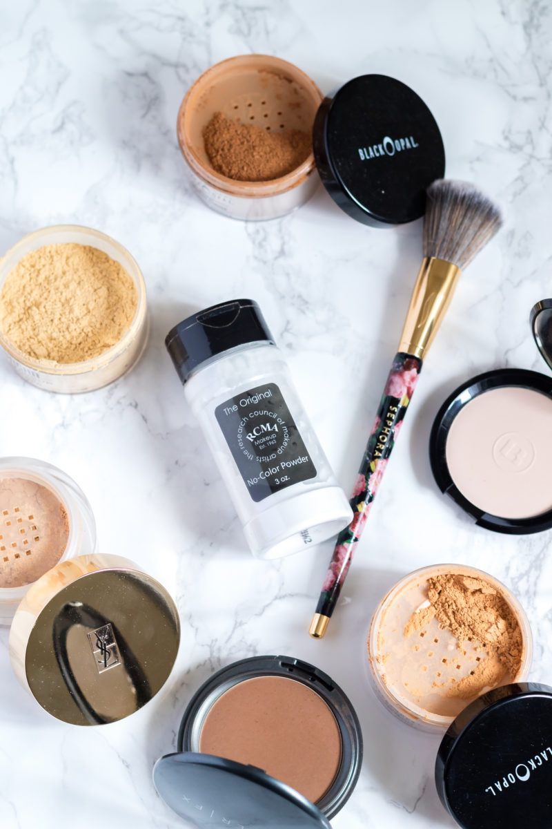 5 Setting Powder that won't cause Flashback Setting