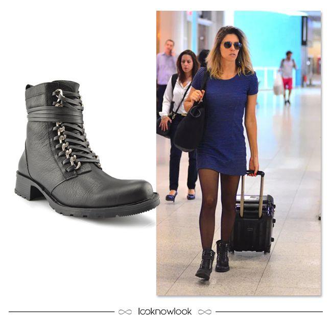 Coturno Ellus #moda #look #estilo #outfit #fernandalima #ootd #aeroporto #coturno #ellus #shop #loja #comprasonline #lnl #looknowlook