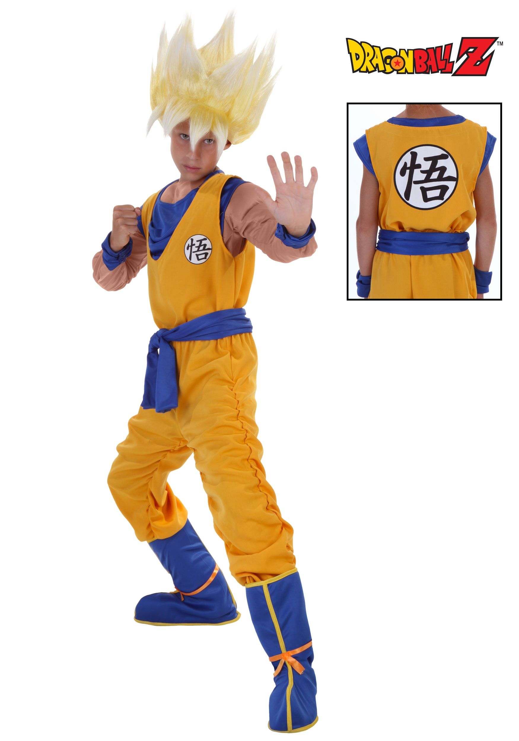 994f2f6d7 Child Saiyan Goku costumes from Halloweencostumes.com | DBZ Official ...