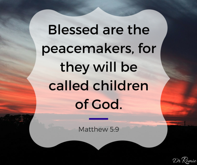 Calling All Peacemakers: Stop The Violence  #innerpeace