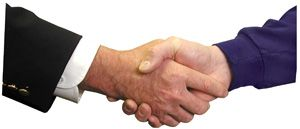 Great Handshake - At Home or Abroad