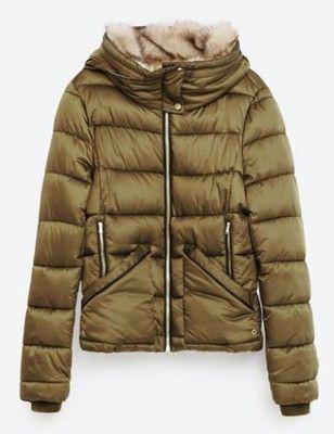 Zara Kurtka Zimowa Z Futerkiem Kaptur 38 M Nowa 6698432190 Oficjalne Archiwum Allegro Zara New Zara Fashion