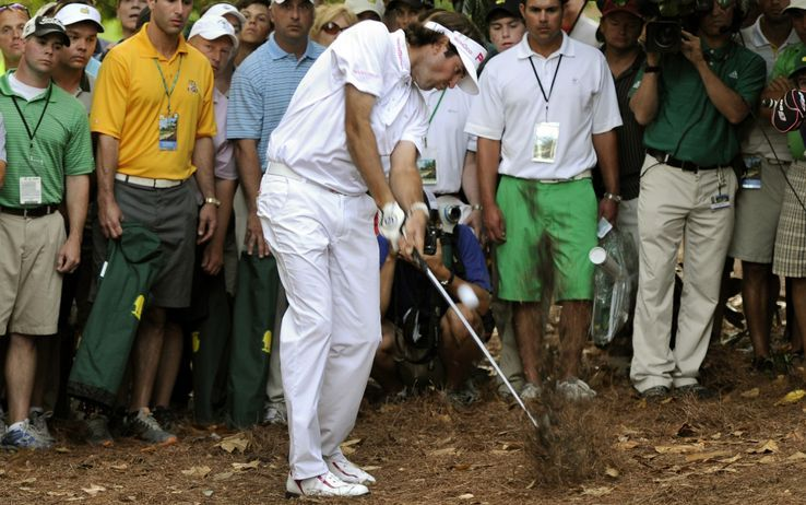 Bubba Watson won the 2012 Masters with a 10 under par score of 278.