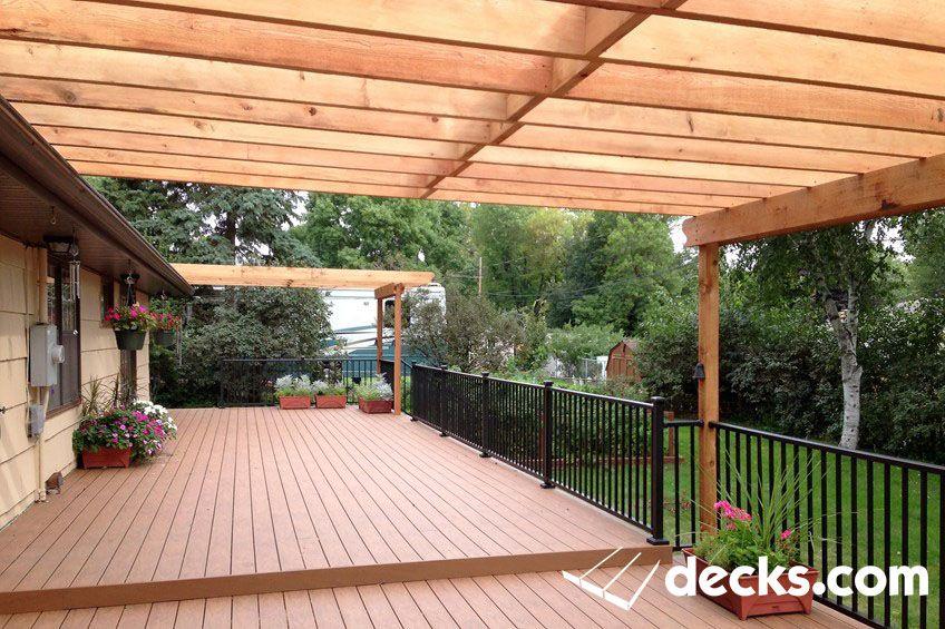 Decks Com Composite Deck Ideas Pergola Outdoor Pergola Pergola Garden