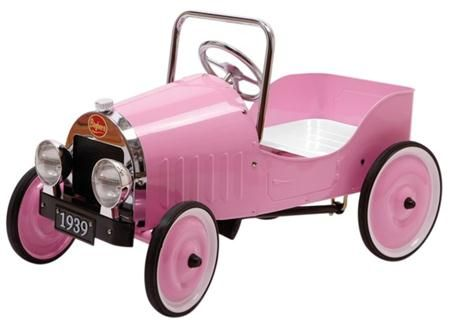 Voiture à pédales - Classic Rose   mine 123   Pinterest   Pedal car ... 604afbca1c04