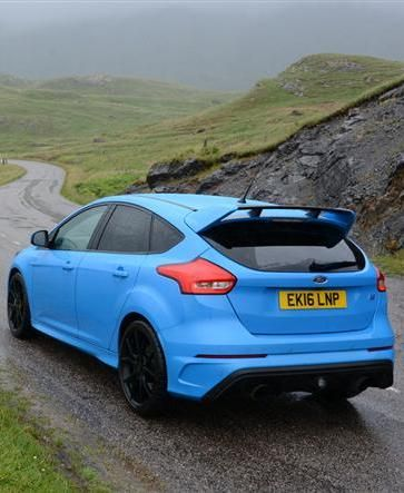 A Ford Focus Rs Scotland S Epic North Coast 500 It Doesn T Get