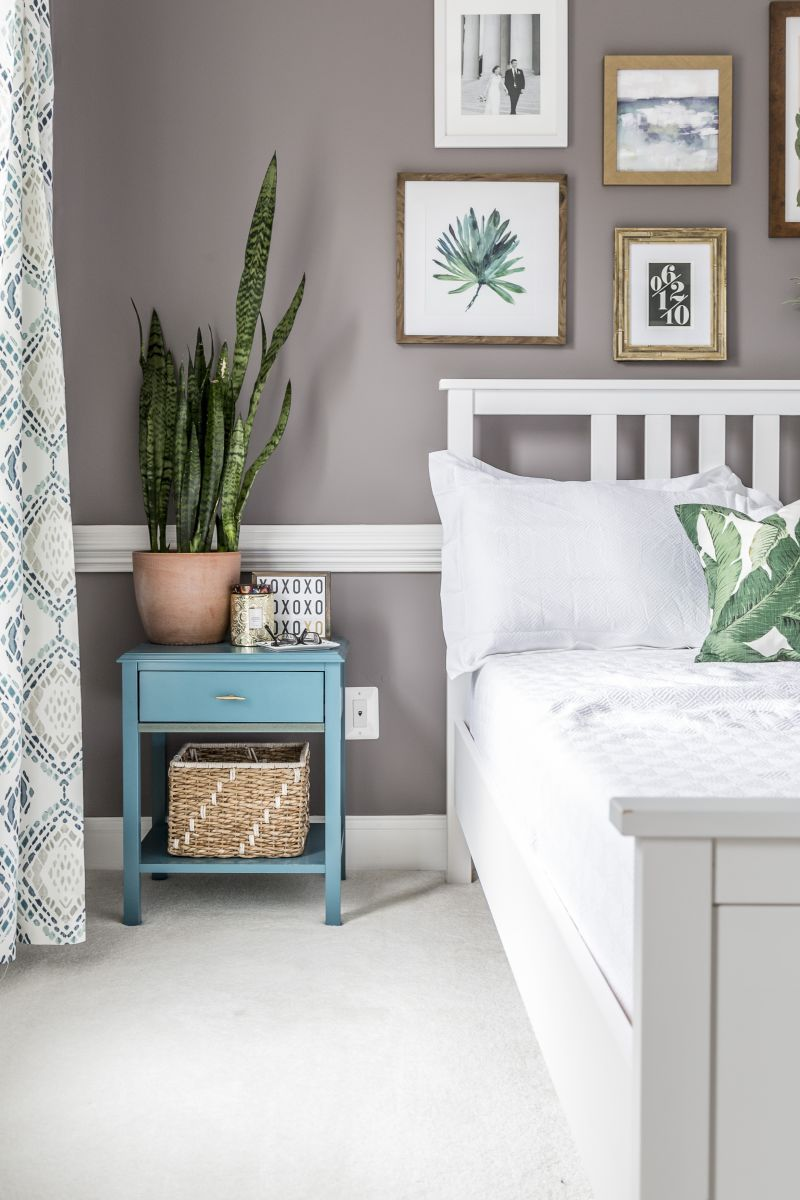 Best Our Modern Boho Master Bedroom Reveal With Images 400 x 300