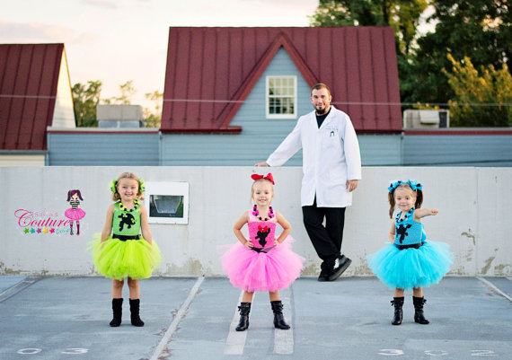 Power Puff girls inspired costumes by SofiasCoutureDesigns on Etsy & Power Puff girls inspired costumes by SofiasCoutureDesigns on Etsy ...