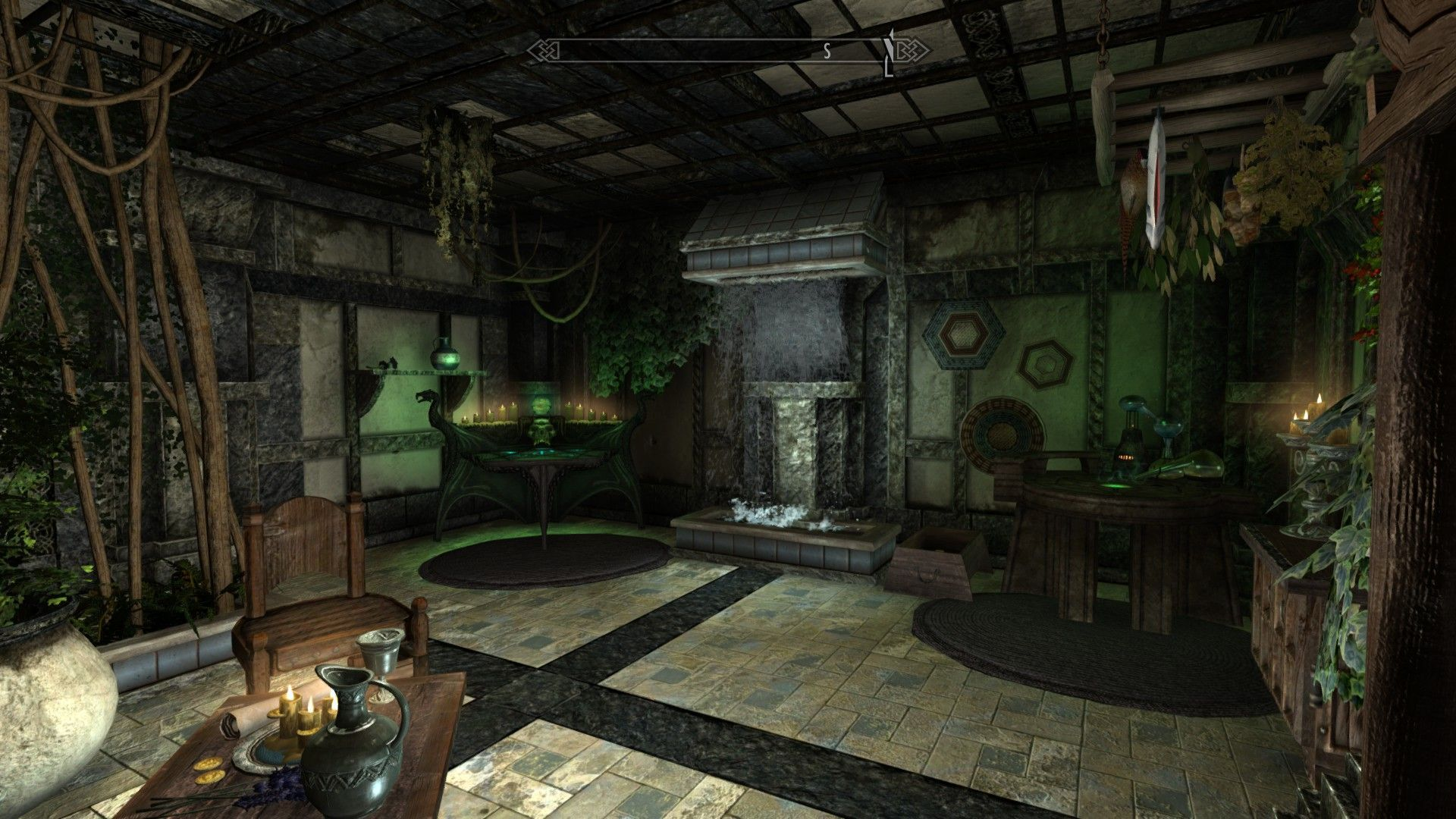 Alchemy room | Fantasy wizard, Skyrim mods, Skyrim