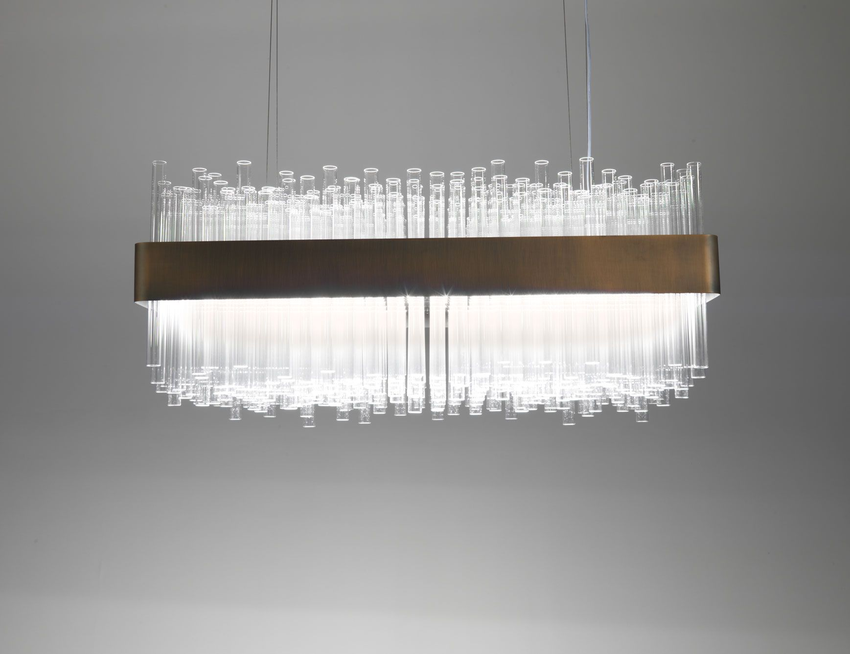 Nella Vetrina Hanging Lamp Of Spectacular Appearance Composed Of