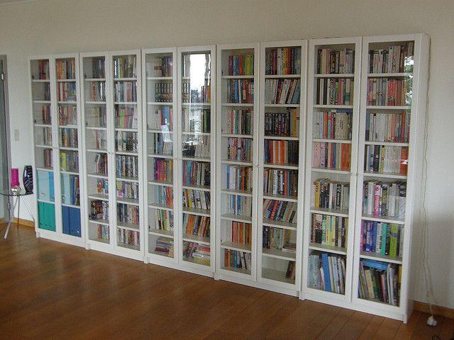 Brussels Bookshelves Bookcase With Glass Doors Wall Bookshelves
