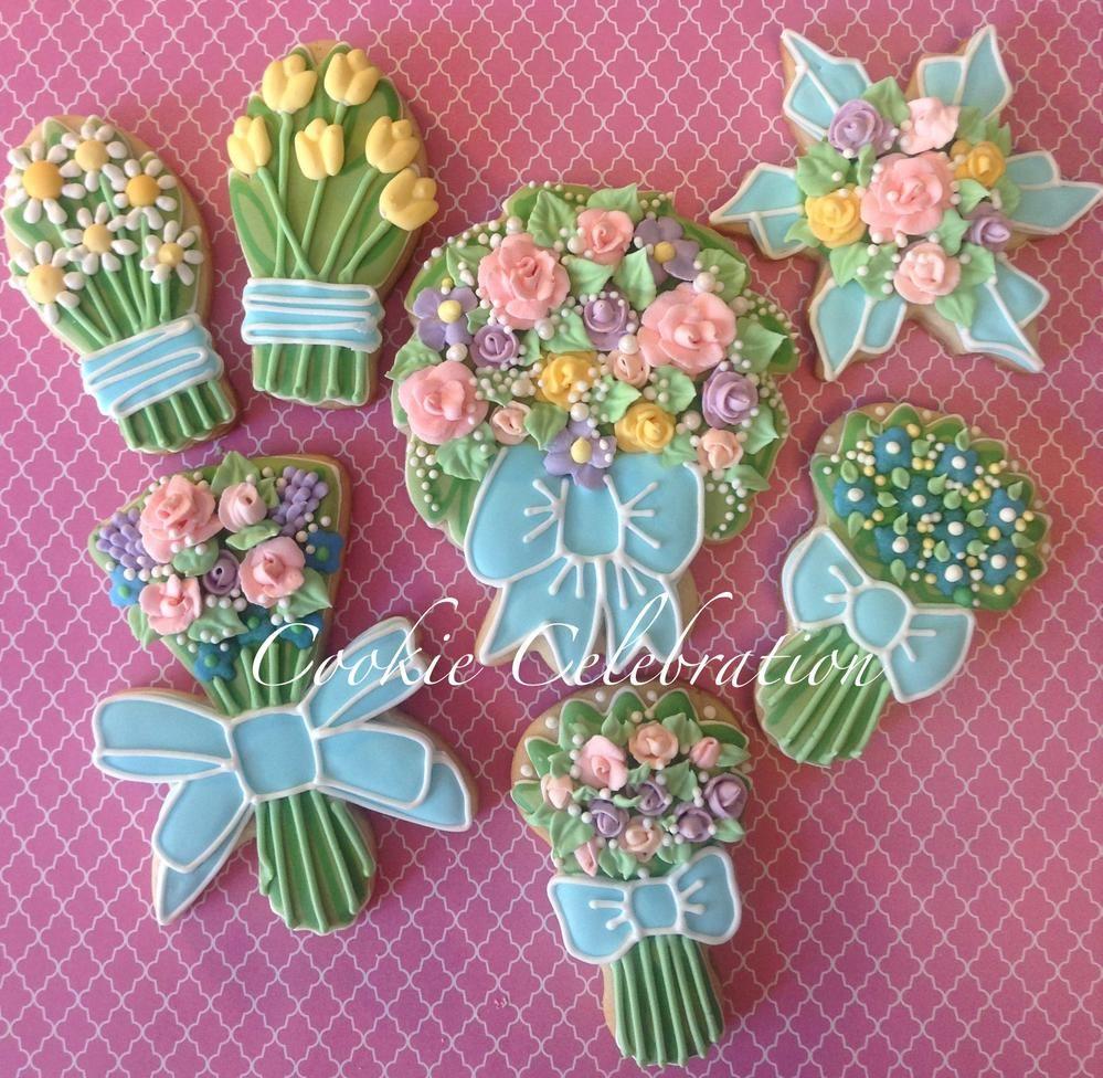 Flower Bouquets- Cookie Celebration   Cookie Connection   Flower ...