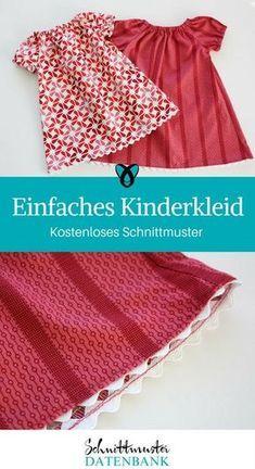 Einfaches Kinderkleid #keinekleidungnähen