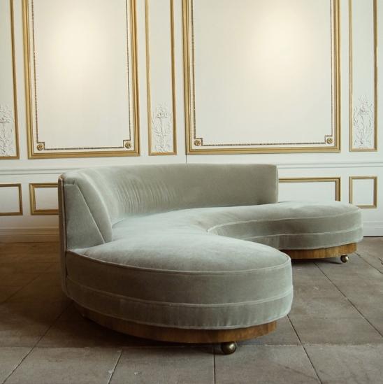 Vladimir Kagan Sofa 1950s Furniture Decor Luxury Sofa