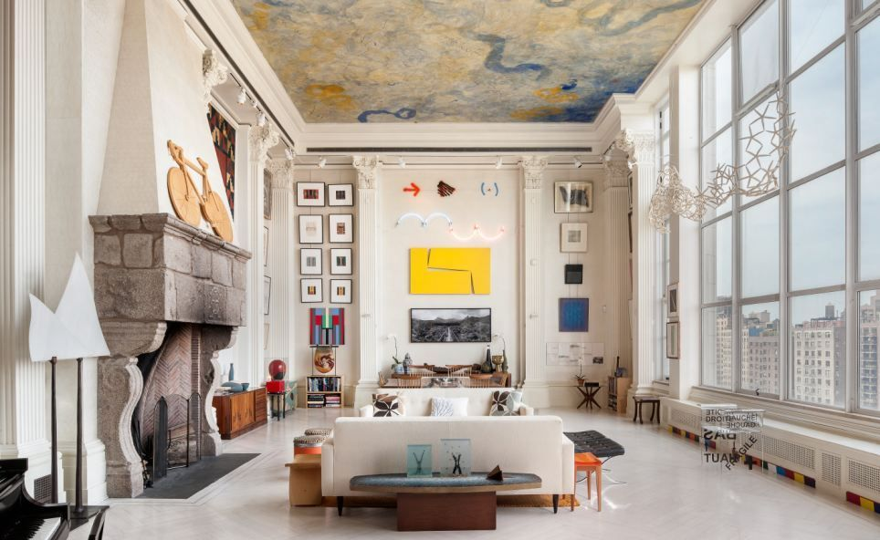 New York Loft Adorned by Fascinating Art Collection Worth  20 MillionNew York Loft Adorned by Fascinating Art Collection Worth  20  . Lofts In New York City For Rent. Home Design Ideas