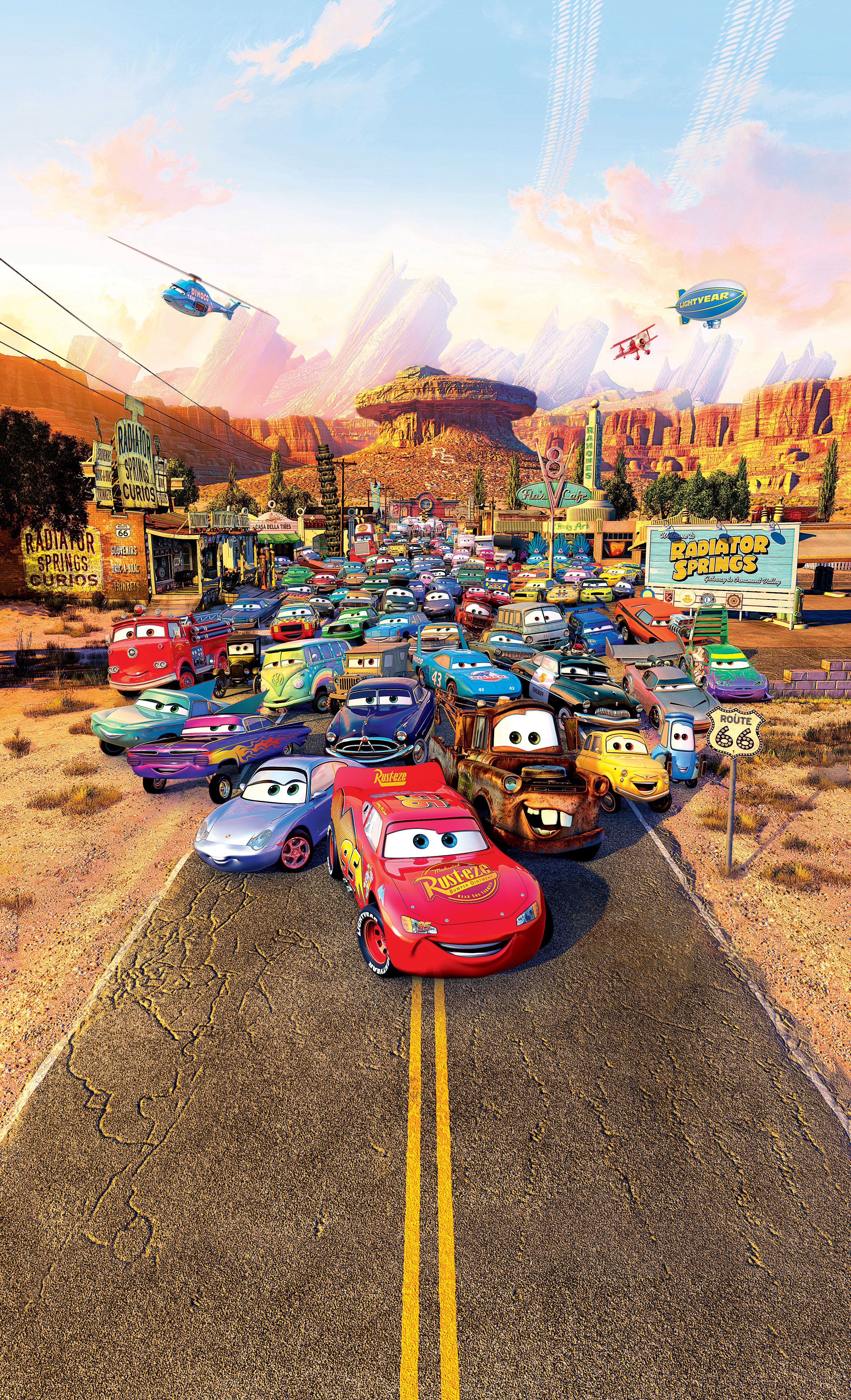 Cars (2006) 車 映画, ピクサー映画