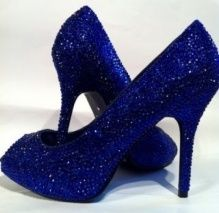 Blue Sparkly Wedding Shoes Stacey S And Dinner Rehearsal Ideas Fro