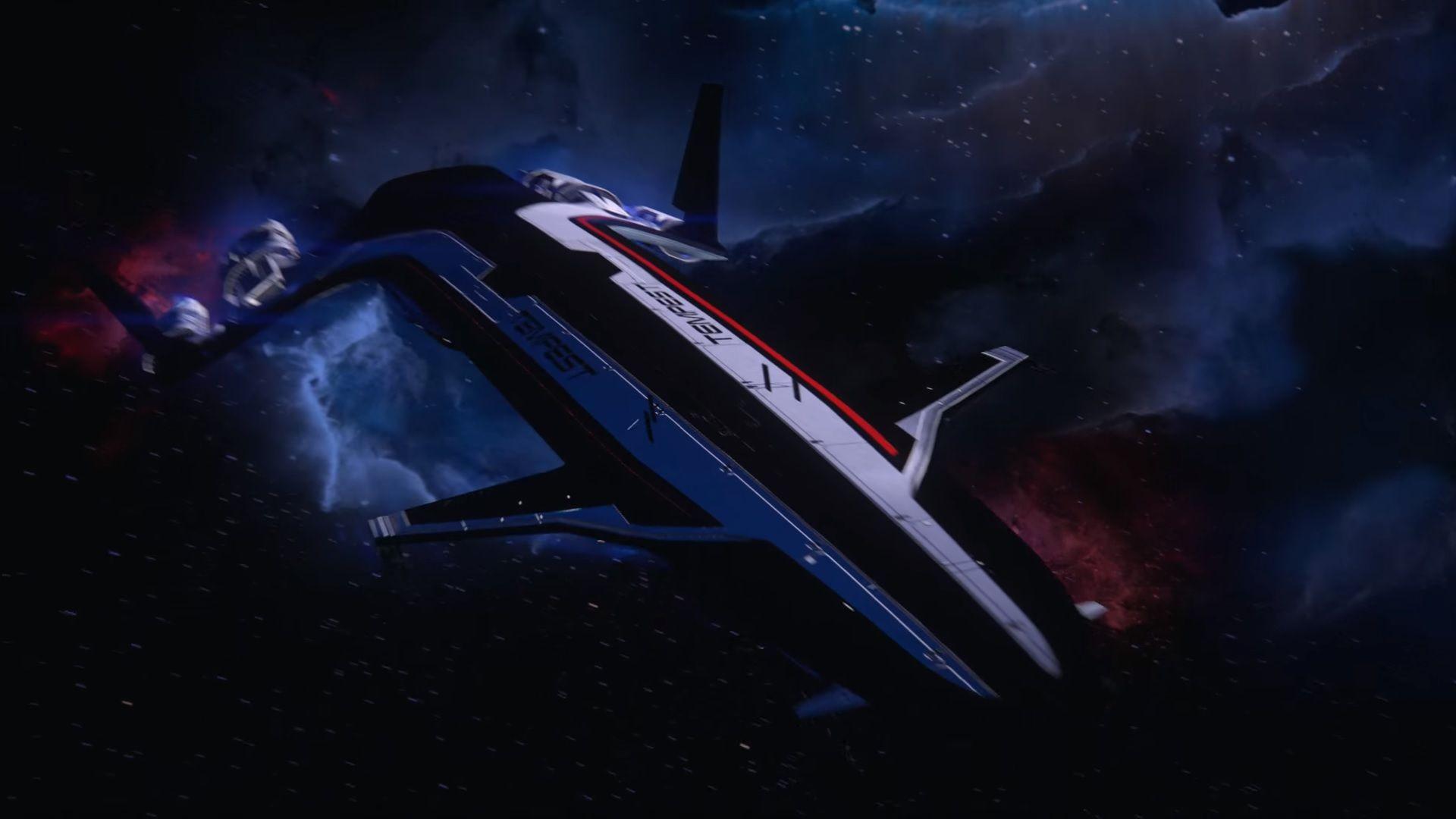 Mass Effect Andromeda The Tempest Mass Effect Mass Effect