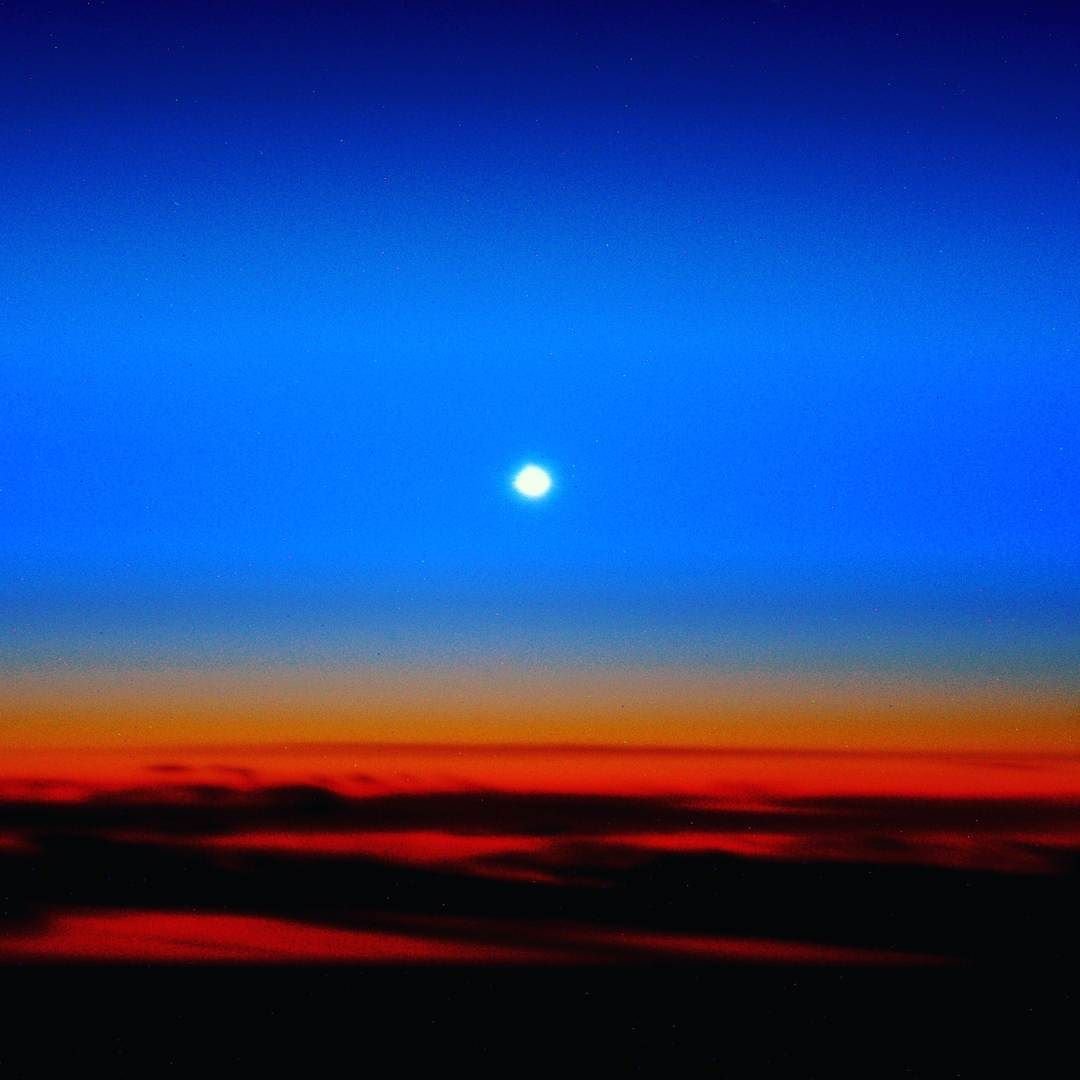 Can we see other planets from space? Heres Venus rising just before the Sun by astro_timpeake