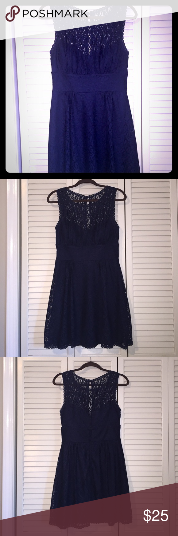 B darlin black lace dress  B Darlin Lace Dress Only worn once and washed per care instructions