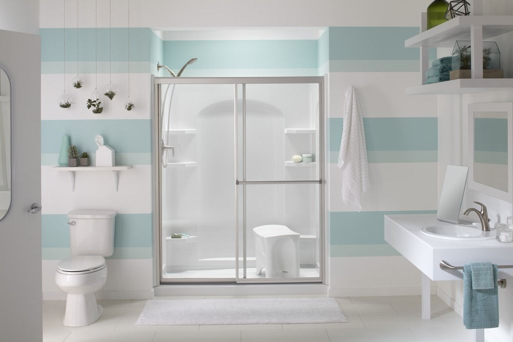 Ensemble shower and seat http://www.sterlingplumbing.com/whats-new ...