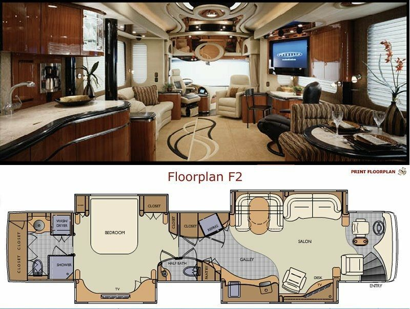 This Luxury Rv Is Basically A Palace On Wheels Interior Design