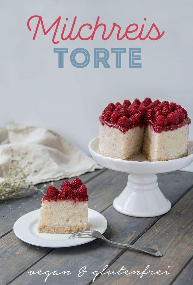 Milchreis Torte Mit Kokos Torten Pinterest Vegan Vegan Cake