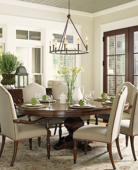 Round Formal Dining Room Tables: Coventry Hills /Lexington In 2020