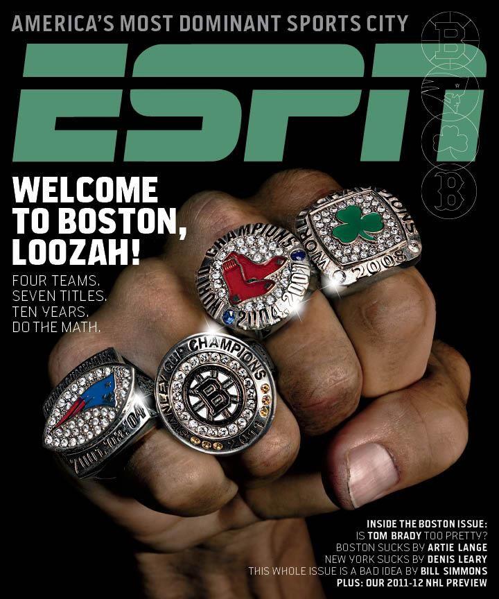 America S Most Dominant Sports City Boston Ma Usa Boston Sports Espn Magazine Boston