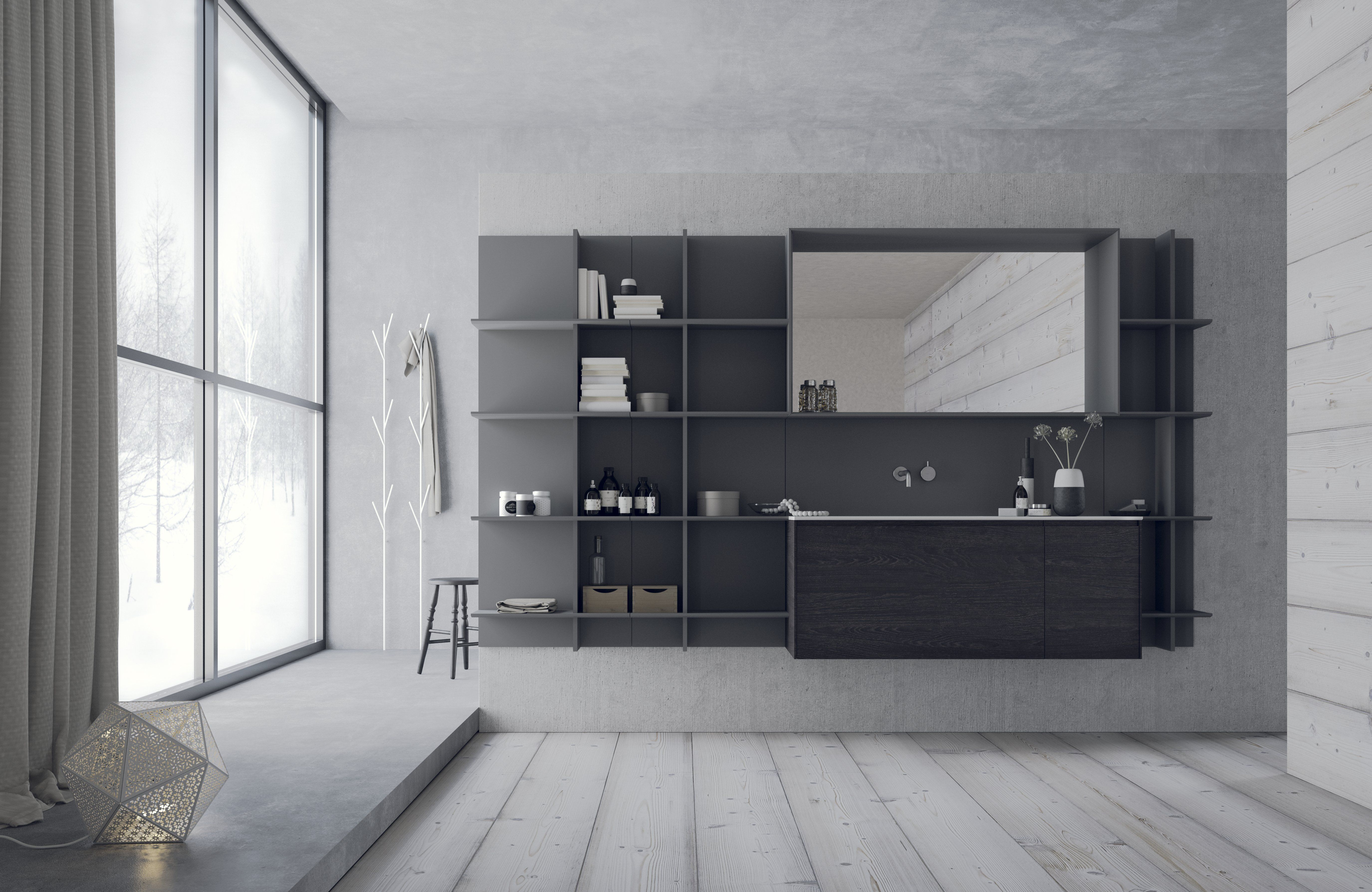 Deco Salle De Bain Beige Et Marron ~ Snaidero Calix Usa Living Collection Snaidero Bathroom Ideas