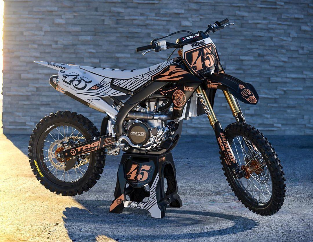 Yamaha Ridefast Kit On Line Mnky Mnkygraphics Motocross Mx