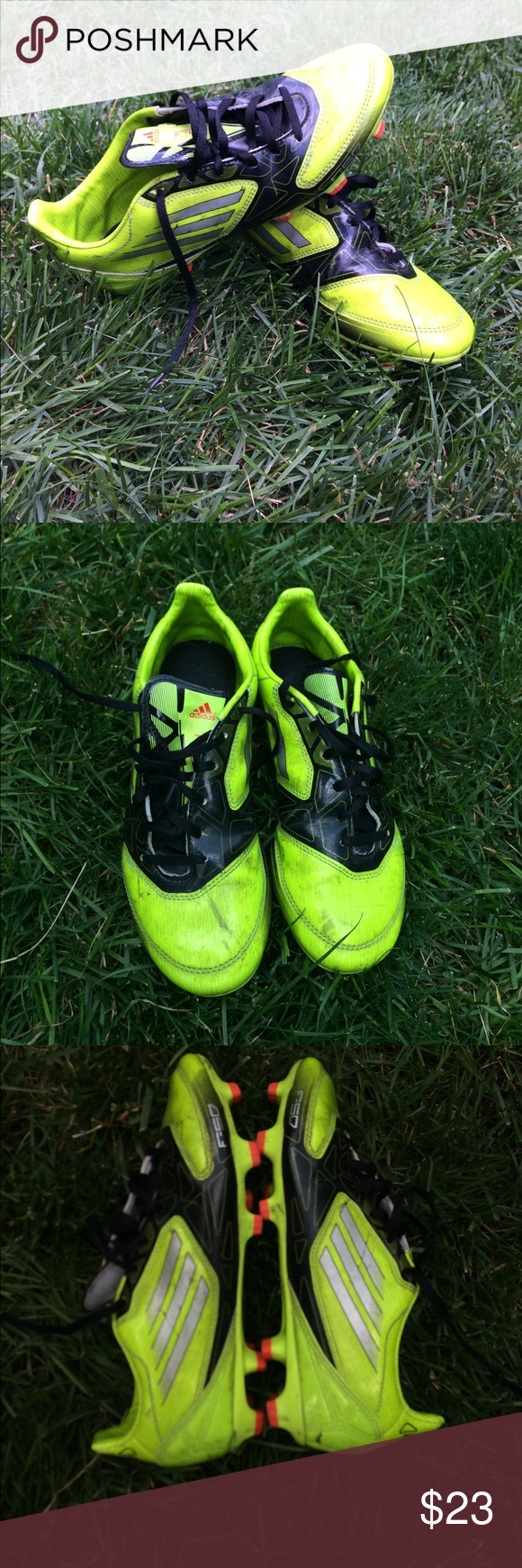 Adidas F-50 Soccer Cleats Used. In great condition just a little dirty. Very comfortable. adidas Shoes Athletic Shoes