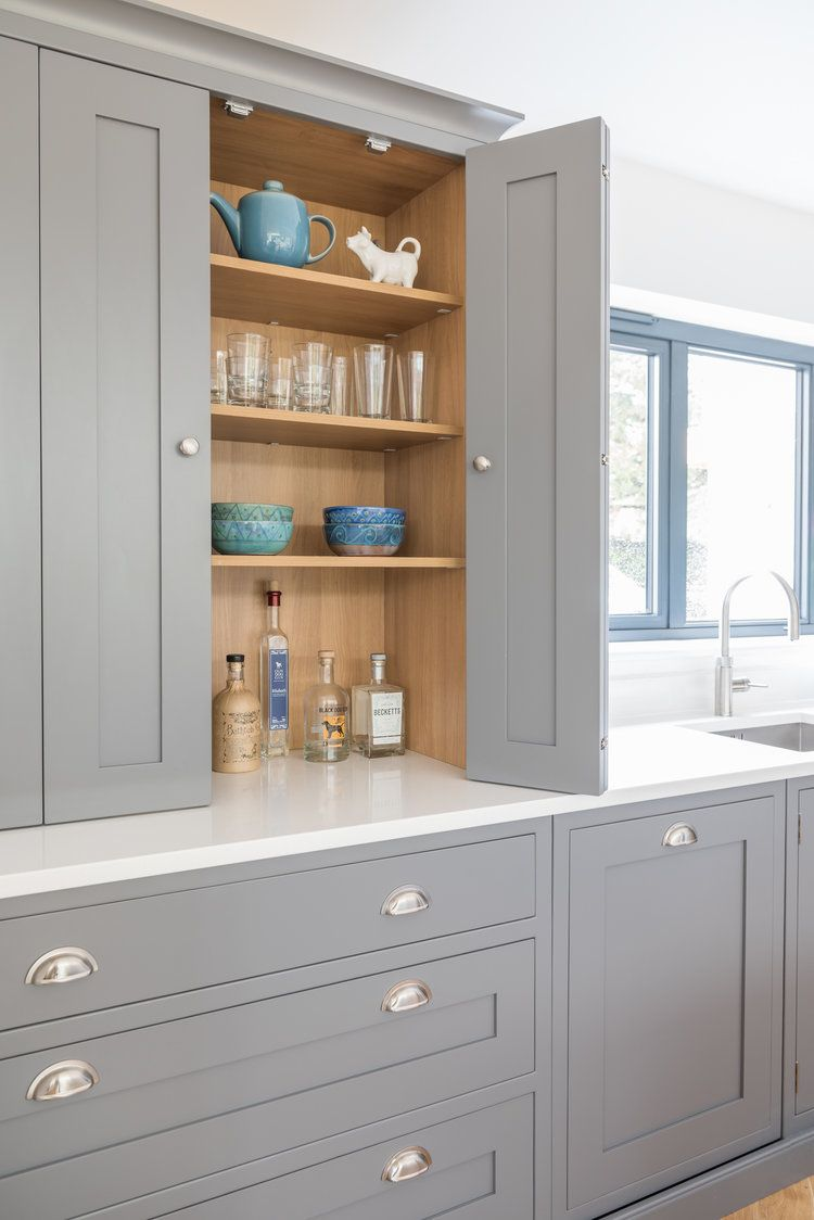 Painted Shaker Kitchens — Distinctly Living Kitchens
