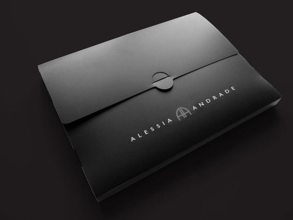 Alessia Andrade Brand Developement Logo Design Brand Identity Wallet