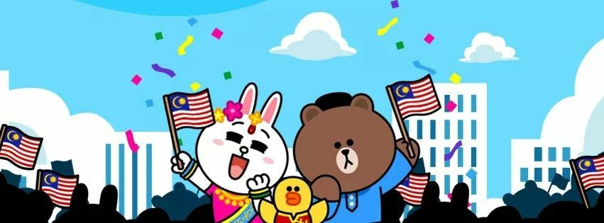 Line Friends / Celebrate Malaysia for 60 years