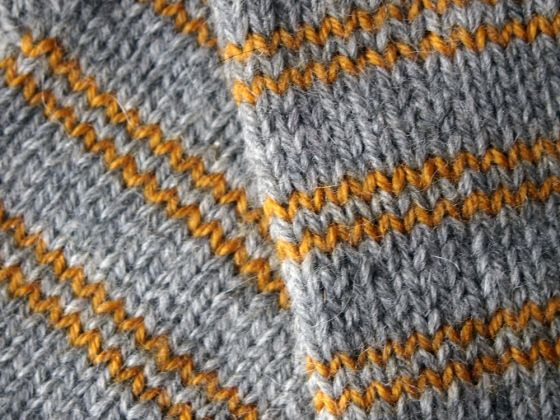"""FREE """"Old School"""" Fingerless Mittens Knitting Pattern   Cable Cable"""