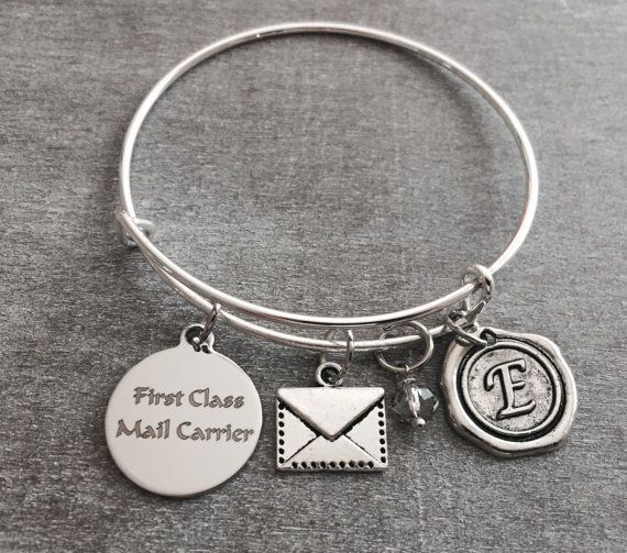 First class mail carrier Mail Lady Letter Envelope by SAjolie