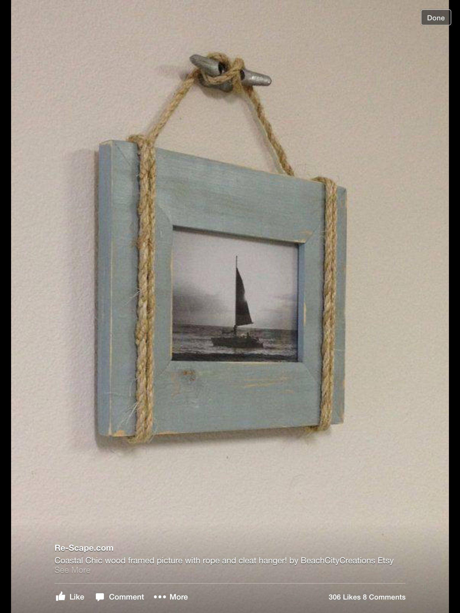 wall beach home nautical pin house decor