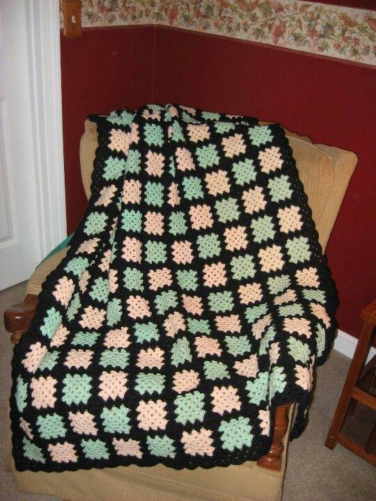 Granny Square Crocheting Pinterest Granny Squares Crocheted