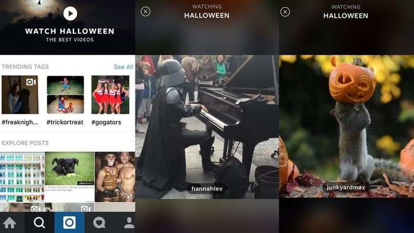 New Instagram video viewer takes a swipe at Snapchat and Twitter Moments