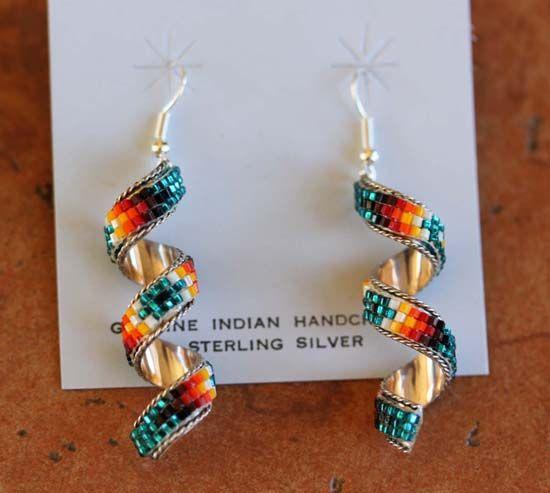 Native Indian Made | Native Indian Made: Earrings : Zuni : Hook