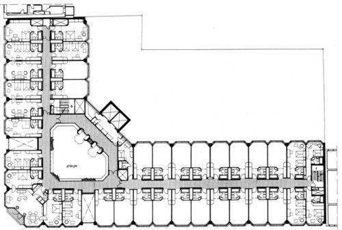Hotel plan pesquisa google hotel pinterest cabin for Hotel plan design
